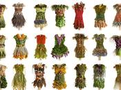 nature dress installations Nicole Dextras