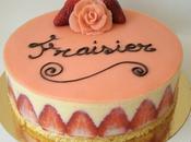 Fraisier grand classique pâtisserie Française