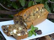 Cake olives, basilic feta