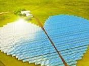 ferme solaire forme coeur