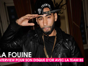 Team Interview Fouine pour disque d'or
