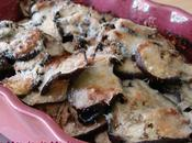 Aubergines gratinées parmesan