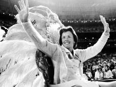 Retour monstre sport: Billie Jean King alias grande Dame tennis