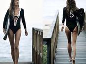Surfer avec Gisèle Bündchen vague Chanel