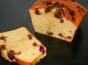Cake vanille, griottes cookies