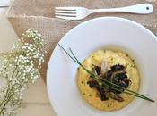 Polenta crémeuse champignons 100% végétal