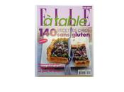 Hors-Série spécial Sans gluten magazine Elle Table