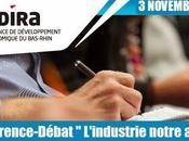 """votre Agenda Conférence-débat thème """"L'industrie notre avenir"""" novembre prochain"""