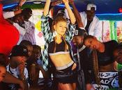 """Fergie premières images clip """"L.A Love La)"""""""