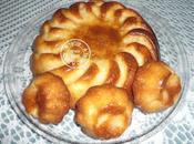 Gâteau yaourt amandes pommes