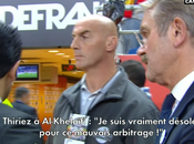 Frédéric Thiriez s'excuse mauvais arbitrage