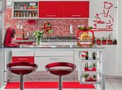 idées cuisine rouge