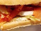 burger saumon fumé chèvre