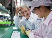 Cook visite dans usine fabrique iPhone