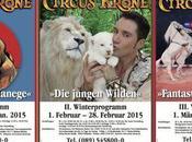 Cirkus Krone: affiches saison d'hiver Munich