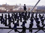 toits Paris bottes pluie, Havaianas samba rain, Beaubourg (Paris