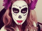 """Tendance Halloween maquillage """"Dia muertos"""""""