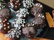 Cupcakes chocolat caramel pour halloween