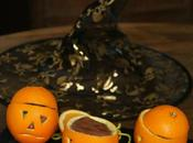 Mousse Chocolat Orange d'Halloween