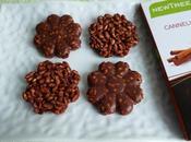 roses sables diététiques chocolat cannelle soufflé complet sans sucre (très riches fibres)