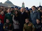 VLADIMIR POUTINE. Russie Donbass: Manifestation monstre pro-Poutine Moscou