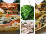Kringle épinards, saumon fumé champignons