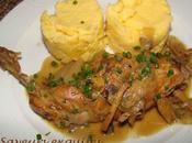 Cuisses lapin câpres, citron parmesan