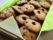 Cookies pépites noisettes raisins secs mûres