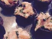 Recette simple champignons saumon fume