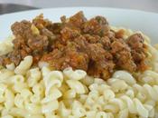 sauce bolognaise revisisée courgette...