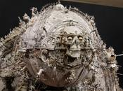 AWSOME Mixed media sculptures Kris Kuksi