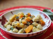 Gnocchi, butternut beurre sauge #VeggieReceipe