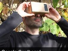 Google Cardboard casque réalité virtuelle carton