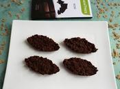 barquettes sables diététiques flakes complet chocolat noir