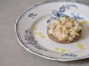 Tartare Saint-Jacques agrumes houmous lentilles vertes