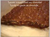 Turron croustillant chocolat (Thermomix) Turrón crujiente chocolate tipo Suchard