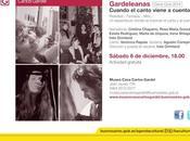 Dernière Gardeleanas Museo Casa Carlos Gardel l'affiche]