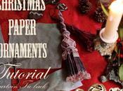 Calendrier.4, Leçon Pompons pour sapins Calendar 4th:Paper curtain backs tutorial
