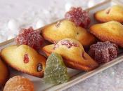 Madeleines pâtes fruits
