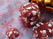 Biscuits craquelés rouges