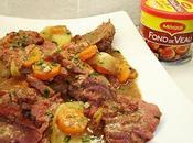 Rôti cerf lardons, carottes pommes terre [#maggi #noel #christmas]