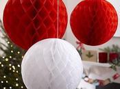 Crush décoration Noël toute légèreté papier alvéolé