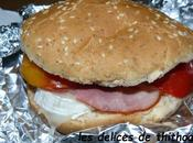 hamburger chèvre