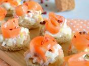 Bouchées apéritives {endive saumon fumé}