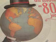 Tour Monde jours, Jules Verne ill. Jonathan Burton