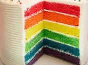 gâteau arc-en-ciel rainbow cake