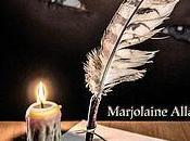nouveau livre Marjolaine Allard L'encre yeux