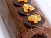 Bûche chocorange