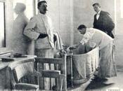 1903 Belle Époque Vichy, salle soins dans nouvel établissement bains.
