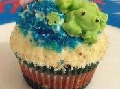 cupcakes aquatique cacahuète